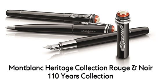 Montblanc Heritage Rouge & Noir