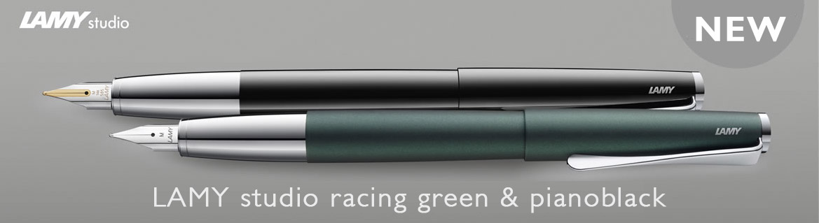 Lamy Studio Racing Green en Piano black