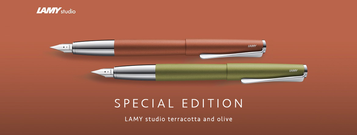 Lamy Studio Special Edition Terracotta and Olive