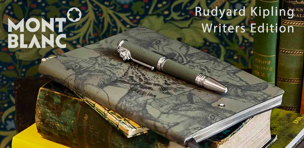 Montblanc Rudyard Kipling Writers Edition